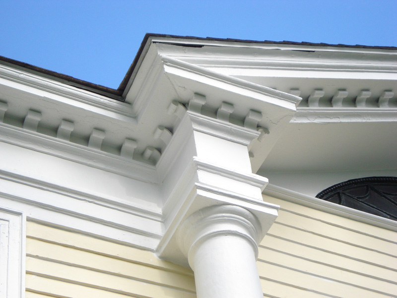 Exterior - Top of column #1
