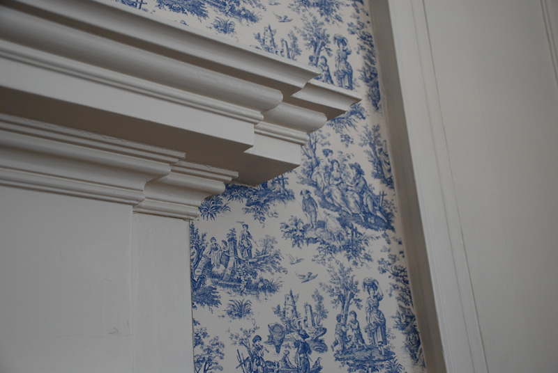 South Parlor - Mantel detail