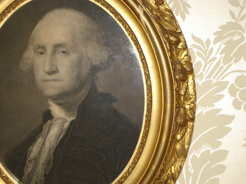 North Parlor - George Washington Frame